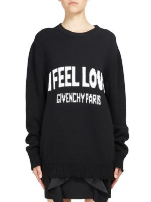 I Feel The Love Cotton Sweatshirt by Givenchy
