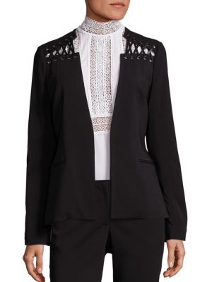 Lacing-Detail Blazer by Yigal Azrouel