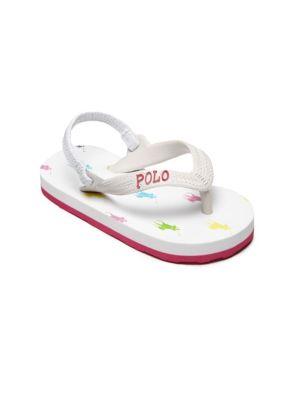 Baby's & Toddler's Logo-Print Sandals