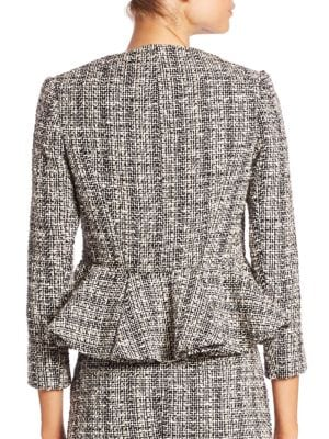 ALEXANDER MCQUEEN Knitted Cotton And Wool-Blend Jacket
