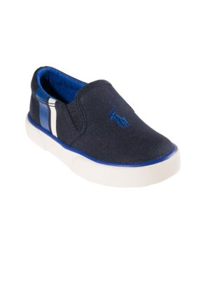 Baby's & Toddler's Striped Slip-On Sneakers