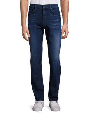 Straight Fit Denim Pants