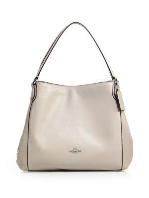 Edie 31 Leather Hobo Bag