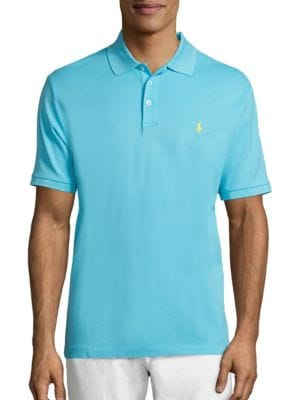 Stretch Mesh Polo