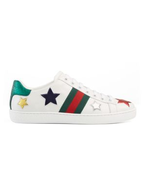 New Ace Star Leather Low-Top Sneakers