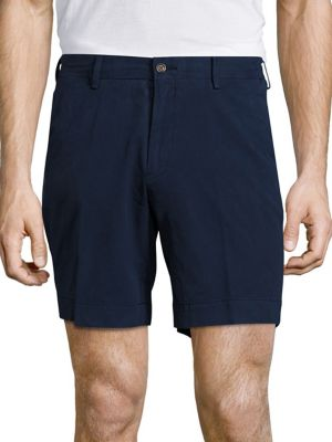 Straight-Fit Pima Chino Shorts