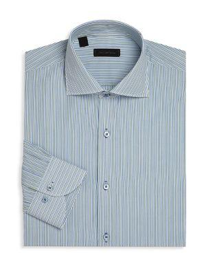 Multi-Striped Dress Shirt