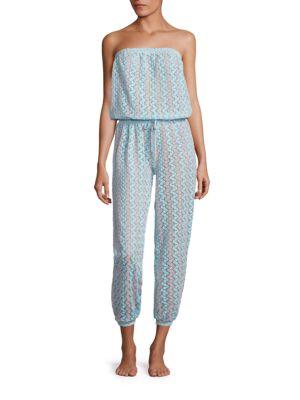 Strapless Lace Jumpsuit