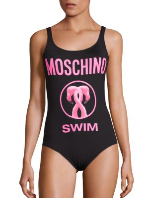 Costum de baie MOSCHINO Flamingo