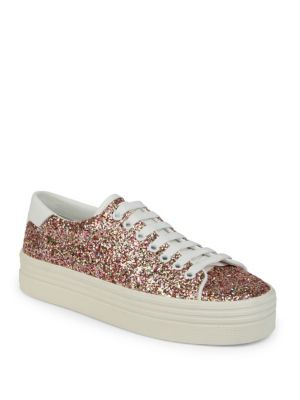 Court Classic Glitter Platform Sneakers