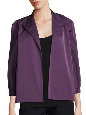 Emmet Open-Front Jacket