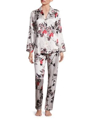 Saks Fifth Avenue Floral Print Pajamas Set | Underwear, Pants and Clothing