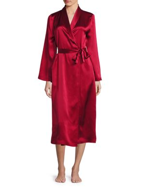 Saks Fifth Avenue Silk Long Robe | Underwear and Clothing