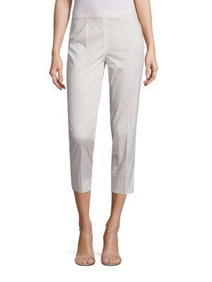 Audrey Printed Cropped Pants