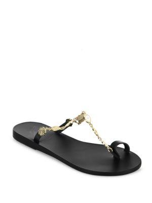 Dora Vachetta Leather Sandals