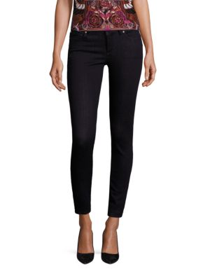 Medusa Stud-Pocket Skinny Jeans