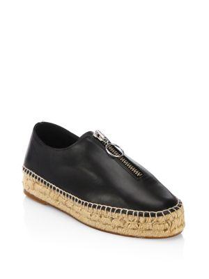 Devon Calf Leather Espadrille