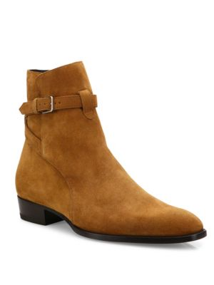 Wyatt Suede Ankle Boots