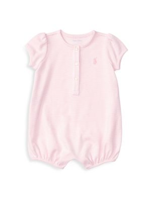 Baby's Striped Shortall