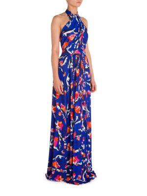 Halter Jersey Gown