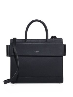 Horizon Small Grained Leather Satchel