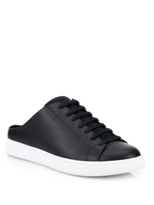 Varley Leather Sneaker Slides