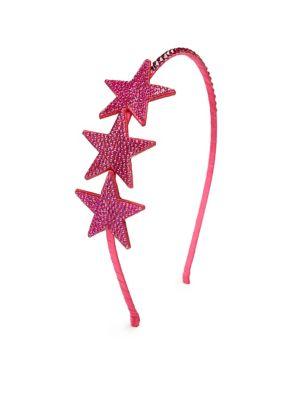 Girl's Crystal Star Headband