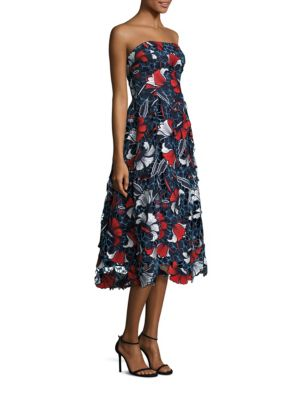 Amelie Lace Strapless Dress