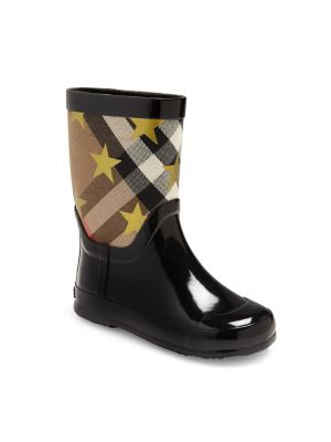 Plaid & Star Graphic Boots