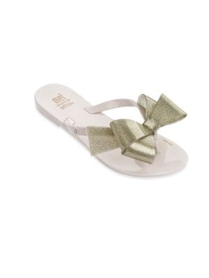 Kid's Mel Bow Thong Sandals
