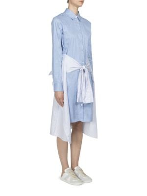Tie-Front Shirtdress