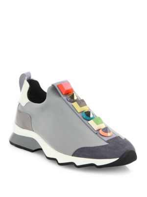 Rainbow Studded Sneakers