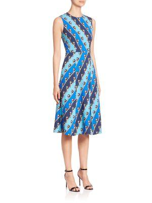 Osmond Lion Striped Dress