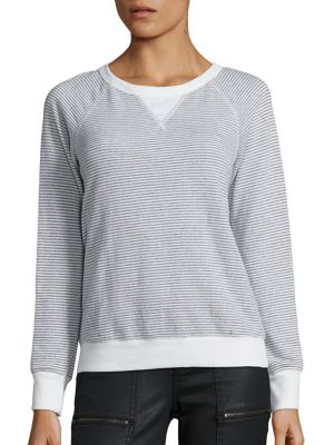 Soft Joie Annora F Striped Sweatshirt