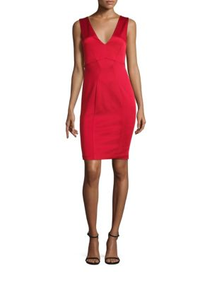 Tie-Back Sheath Dress