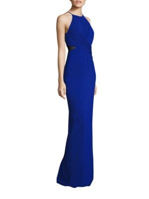 Twist Front Cutout Gown by Badgley Mischka
