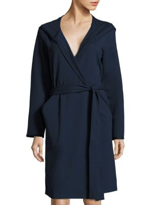 Self-Tie Long Sleeve Robe