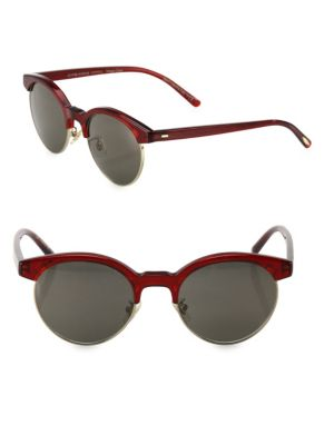 Ezelle 51MM Round Sunglasses