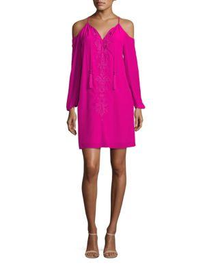 Fulton Cold Shoulder Tunic Dress