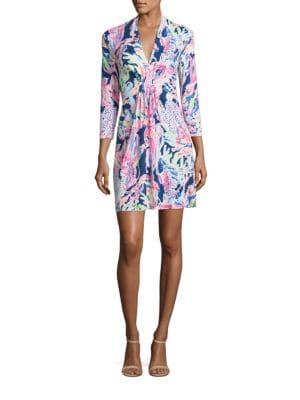 Margate Painterly A-Line Dress