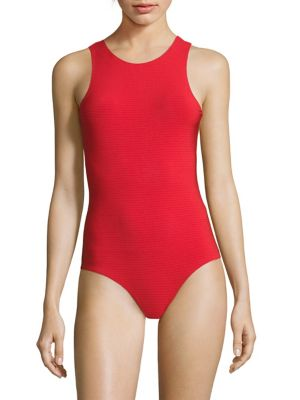 Brittany Textured One-Piece Swimsuit by Rochelle Sara