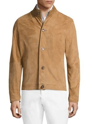 michael kors male leather back moto jacket
