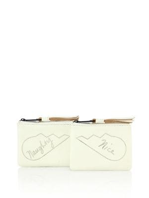 rebecca minkoff female 45883 naughty nice leather pouches