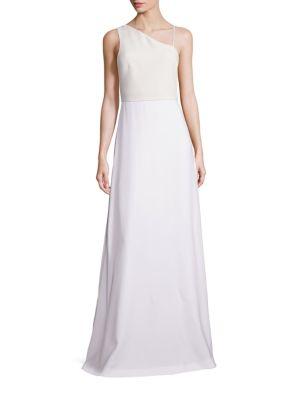 Bianca Asymmetrical One-Shoulder Gown
