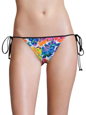 Banana Leaf Biarritz String Bikini Bottom