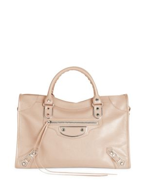 Small City Leather Satchel