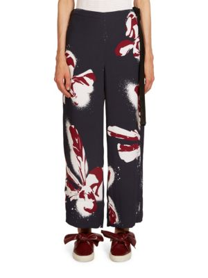 Orchid Printed Pants