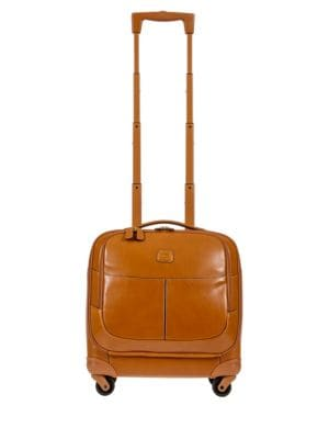 Life Pelle Wheeled Tuscan Leather Business Case