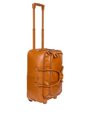"""Life Pelle 21"""" Carry-On Rolling Tuscan Duffle Bag"""