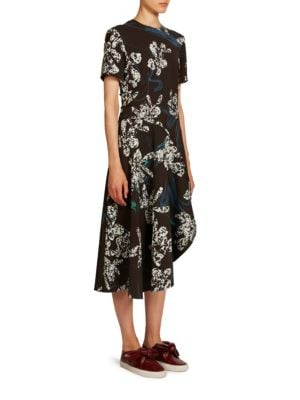 Orchid Printed Dress